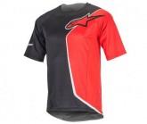 Bike Shirt Sierra SS Herren black red