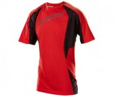Bike Shirt Turbulence SS Herren flo red/charcoal