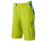 Bike Short Stage2 Herren lime green/navy