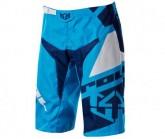 Bike Short Victory Race Herren cyan blue/navy blue/white
