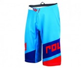 Bike Short Victory Race Herren cyan/navy/red