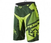Bike Short Victory Race Herren dark green/light green/yellow