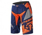 Bike Short Victory Race Herren navy blue/grey/flo orange