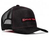 Cap Trucker Unisex black/red