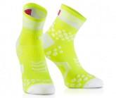 Compressport Lauf Socken Racing V2 Unisex Fluo Yellow