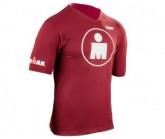 Compressport Running Tshirt Ironman Mdot Herren Red