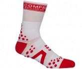 Compressport Socken PRS V2 Bike HI Unisex White/Red