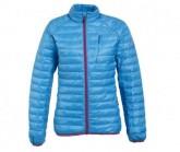 Daunen Jacke Half & Half Damen blau