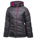 Daunen Jacke Ivy H-Box Damen ashcoal/old rose