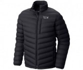 Daunen Jacke Stretch Down Jacket Herren black
