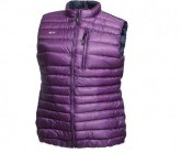 Daunen Weste Cross Ultra Lightweight Damen imperial purple