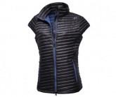 Daunen Weste Ravenna Micro Chamber Damen black/spectrum blue