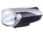 Fahrradlampe Bongo LED Vorne silver