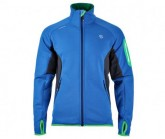 Fleece Jacke Cadier Herren deep duck blue/whales grey