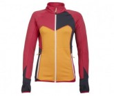 Fleece Jacke Frida Damen rot/orange