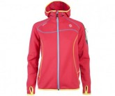 Fleece Jacke Kula Damen pink cerise/fresh duck blue