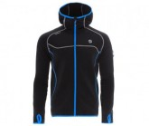 Fleece Jacke Punjab Herren black/deep sea blue
