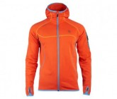 Fleece Jacke Punjab Herren orange red