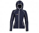 Fleece Jacke Summit Damen blau