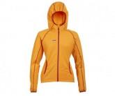 Fleece Jacke Summit Damen orange
