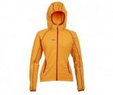 Fleece Jacke Summit Damen orange