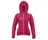 Fleece Jacke Summit Damen pink