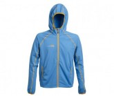 Fleece Jacke Summit Herren hellblau