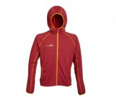 Fleece Jacke Summit Herren rot