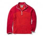 Fleece Pullover Ionic II Zip Herren dynamite/chilli