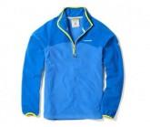Fleece Pullover Ionic II Zip Herren sport blue/deep china blue