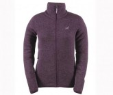 Fleecejacke Idala Damen dark plum