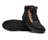 Freizeit Schuh City Hiker Herren black/golden brown