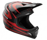Fullface Helm Evo Carbon Camber Unisex red