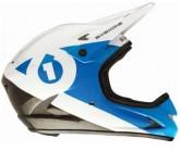 Fullface Helm Rage Unisex black/cyan