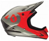 Fullface Helm Rage Unisex black/red