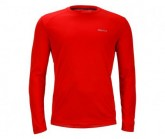 Funktionsshirt Windridge LS Herren scarlet red