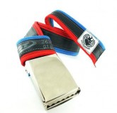 Gürtel Inner Tube Belt unisex navy  blue/red