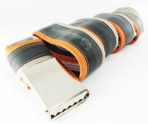 Gürtel Inner Tube Belt unisex orange/lightbrown