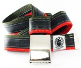 Gürtel Inner Tube Belt unisex red/darkgreen