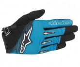 Handschuh Flow Unisex bright blue/black