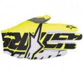 Handschuh Rover Unisex yellow fluor/black/white