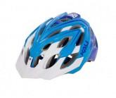 Helm Chakra Plus MTB/XC Unisex white/blue