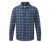 Hemd Gillam CHK Shirt Herren vintage indigo