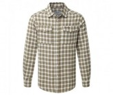 Hemd Kiwi Check Herren espresso brown
