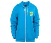 Hoodie Classic Box Herren neon blue