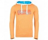 Hoody Achensee Paper Herren orange washed