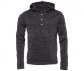 Hoody Lockoff Herren moonless black