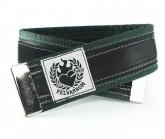 Hosenklammer Trousers Stripe darkgreen
