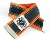 Hosenklammer Trousers Stripe orange