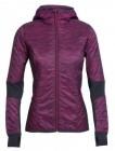 Insulator Jacke Helix Zip Hood Fraser Peaks Damen pop pink/stealth